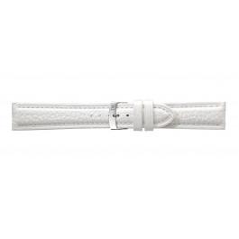 Morellato klokkerem Kuga U3689A38017CR24 / PMU017KUGA24 Lær Hvit 24mm + standard sømmer