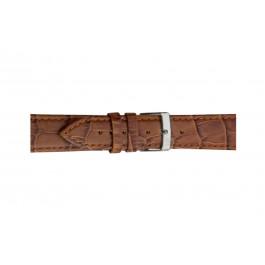 Morellato klokkerem Bolle X2269480041CR12 / PMX041BOLLE12 Krokodilleskinn Brun 12mm + standard sømmer