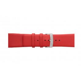 Morellato klokkerem Large X3076875083CR26 / PMX083LARGE26 Glatt lær Rød 26mm