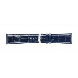 Morellato klokkerem Extra X3395656062CR30 / PMX062EXTRA30 Krokodilleskinn Blå 30mm + standard sømmer