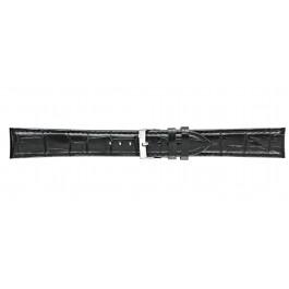 Morellato klokkerem Bolle XL Y2269480019CR24 / PMY019BOLLE24 Lær Svart 24mm + standard sømmer