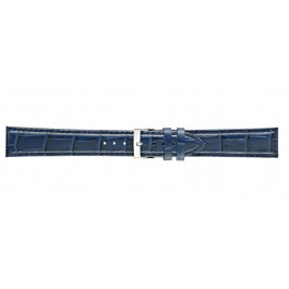 Morellato klokkerem Bolle XL Y2269480061CR24 / PMY061BOLLE24 Krokodilleskinn Blå 24mm + standard sømmer