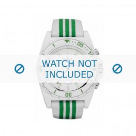 Adidas klokkerem ADH2667 Stoff Grønn 24mm