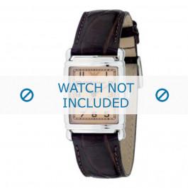 Klokkerem Armani AR0204 Lær Brun 18mm