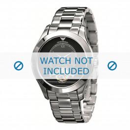 Armani klokkerem AR4639 Metall Sølv 22mm