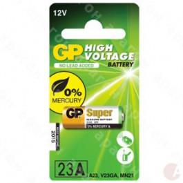 GP Andre batterier Batteri 23AE / A23 / V23GA / MS21 / MN21 - 12v