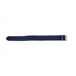 Klokkerem Universell PRLN.20.B Nylon/perlon Blå 20mm