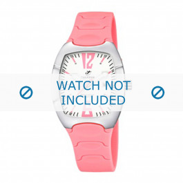 Calypso klokkerem K5161-1 Gummi / plast Rosa 11mm