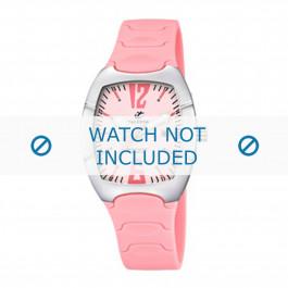 Calypso klokkerem K5161-2 Gummi / plast Rosa 11mm
