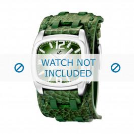 Calypso klokkerem K5224/4 Lær Grønn 26mm