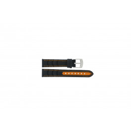 Klokkerem Camel BC51043 Active Lær Svart 18mm