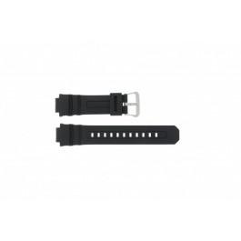 Klokkerem Casio AW-590-1A / AWG-100 / AWG-101 / AWG-591 Gummi Svart 16mm