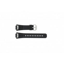 Klokkerem Casio GS-1000J-1A / 10212982 / 10332054 Silikon Svart 15mm
