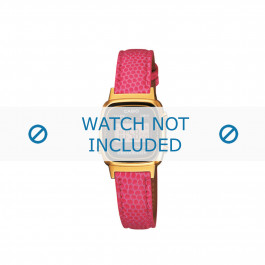 Klokkerem Casio LA670WEGL-4AEF / LA670WEGL-4 / 10487171 Lær Rose 13mm