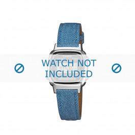 Klokkerem Casio LA670WEL-2A2EF / LA670WEL-2A2 Lær Blå 13mm