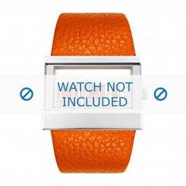 Klokkerem Dolce & Gabbana 3719240404 Lær Oransje 35mm