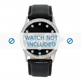 Klokkerem Dolce & Gabbana DW0008 Lær Svart 24mm