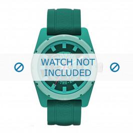 Diesel klokkerem DZ1625 Silikon Grønn 24mm