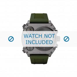 Klokkerem Diesel DZ4202 Silikon Grønn 28mm