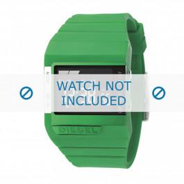 Diesel klokkerem DZ7136 Silikon Grønn 23mm