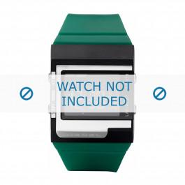 Diesel klokkerem DZ7212 Silikon Grønn 23mm