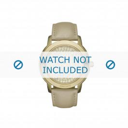 Klokkerem DKNY NY8435 Lær Brun 20mm