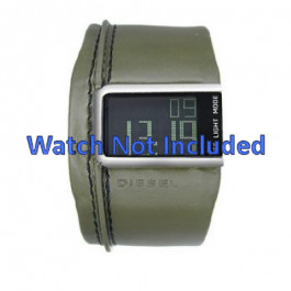 Klokkerem Diesel DZ7053 Lær Grønn 28mm