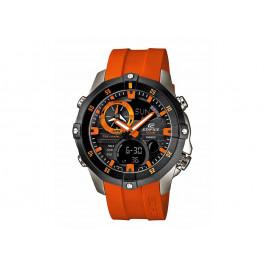Klokkerem Casio EMA-100B-1A4V / 5299 / 10449650 Gummi Oransje 22mm
