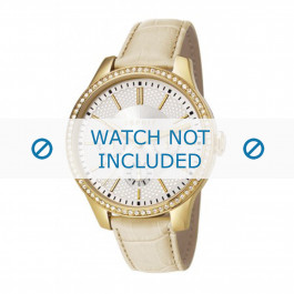 Klokkerem Esprit ES107132003-40L Lær Beige 16mm