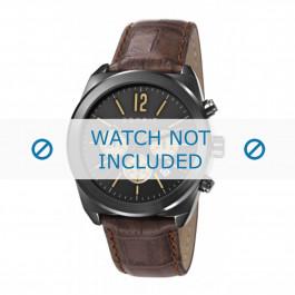 Esprit klokkerem ES107571 / ES107571003-40L Lær Brun + søm brun