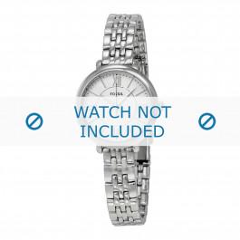 Fossil klokkerem ES-3797 Stål Sølv 10mm