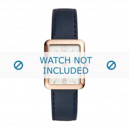 Fossil klokkerem ES4158 Lær Blå + søm blå