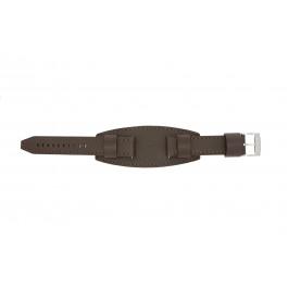 Klokkerem Fossil JR1395 Lær Brun 20mm