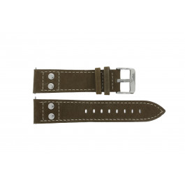 Klokkerem H820 Lær Brun 22mm