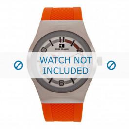 Klokkerem Hugo Boss HB-155-1-14-2390 / HO1512693 Silikon Oransje 20mm