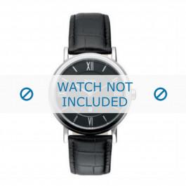 Klokkerem Hugo Boss HB-24-1-14-2034 / HB659302044 Lær Svart 20mm