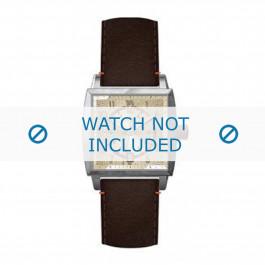 Klokkerem Hugo Boss HB-34-1-14-2049 Lær Brun 24mm