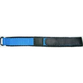 Klokkerem Condor KLITTENBAND 412R Licht Blauw Borrelås Blå 20mm