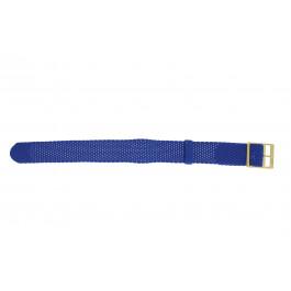 Klokkerem Universell PRLN.18.LB Nylon/perlon Blå 18mm