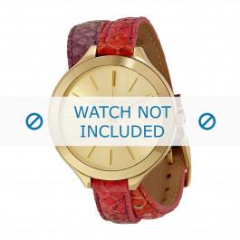 Klokkerem Michael Kors MK2390 Lær Multicolor 12mm