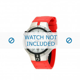 Nautica klokkerem A19518  Gummi / plast Rød