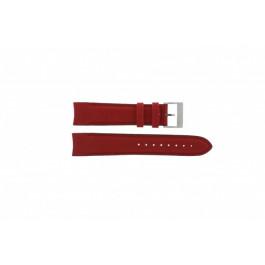 Nautica klokkerem A24515G / N16532 Lær Rød 22mm