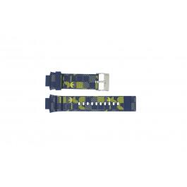 Klokkerem Adidas ADH6106 Gummi Blå 16mm