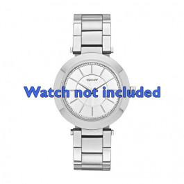 DKNY klokkerem NY-2285 Stål Sølv 18mm