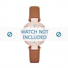 Klokkerem DKNY NY2415 Lær Brun 12mm
