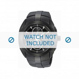 Seiko klokkerem SNAD11P1 / 7T62 0JA0 04B / 4A571MM Metall Svart 20mm
