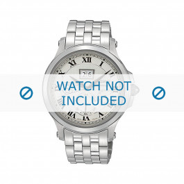 Klokkerem Seiko SNP039P1 / 7D48-0AG0 01B / M0NB111J0 Stål Stål 20mm