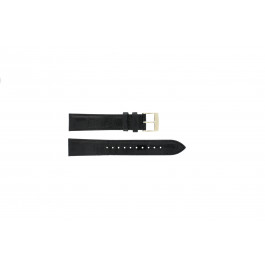 Seiko klokkerem 7N32-0DE0 Lær Svart 18mm