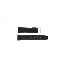 Klokkerem Seiko 7T62-0HL0 / SNAB59P1 / 4LP4JB Lær Svart 24mm