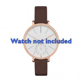 Klokkerem Skagen SKW2356 Lær Brun 12mm